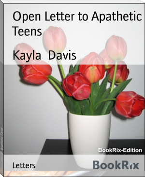 Open Letter to Apathetic Teens