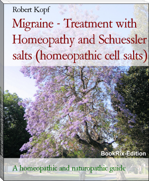 Migraine - Treatment with Homeopathy and Schuessler salts (homeopathic cell salts)