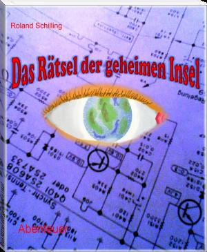 """Buchcover Roland Schilling """"Das Rätsel der geheimen Insel"""""""