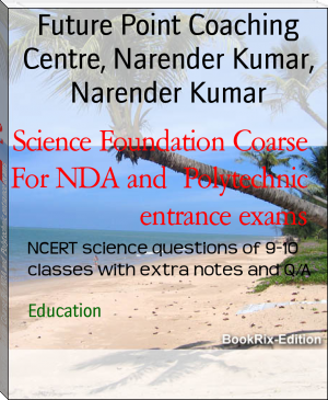 Science Foundation Coarse For NDA and  Polytechnic entrance exams