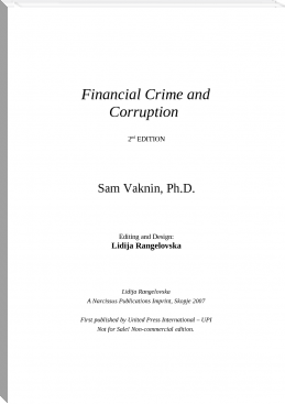 Corruption and Financial Crime