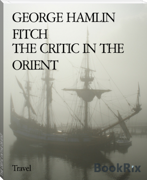 THE CRITIC IN THE ORIENT