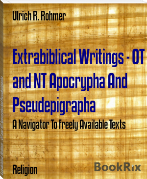 Extrabiblical Writings - OT and NT Apocrypha And Pseudepigrapha