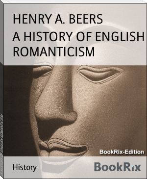 A HISTORY OF ENGLISH ROMANTICISM