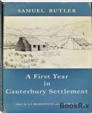 A First Year In Canterbury Settlement (Fiscle Part-IX)