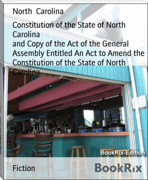 Constitution of the State of North Carolina