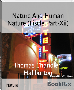 Nature And Human Nature (Fiscle Part-Xii)