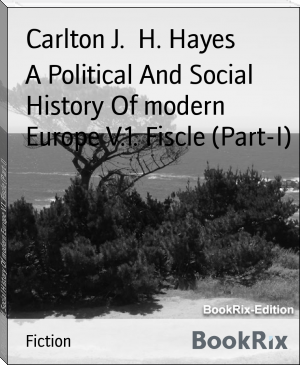 A Political And Social History Of modern Europe V.1. Fiscle (Part-I)