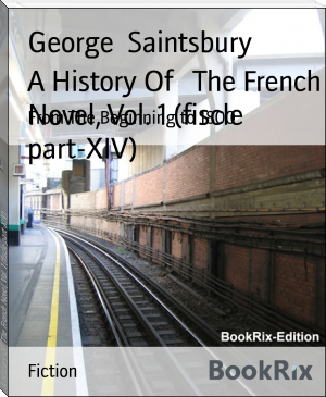 A History Of   The French Novel, Vol. 1 (fiscle part-XIV)